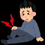 【施術の様子】膝痛