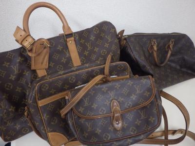 ヴィトンのバッグを買取しています