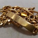 金の指輪やネックレスの買取をしています