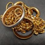 金の指輪とネックレスを買取りしました
