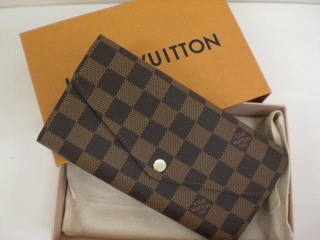 ヴィトンの財布を買取しています